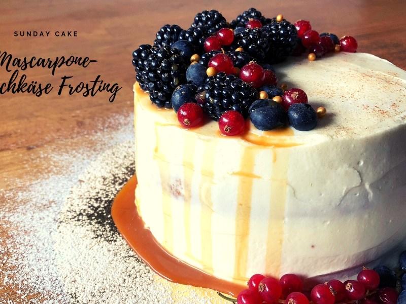 Mascarpone-Frischkäse-Frosting