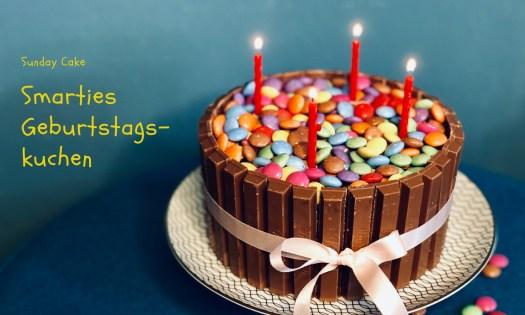 Smarties Geburtstagskuchen