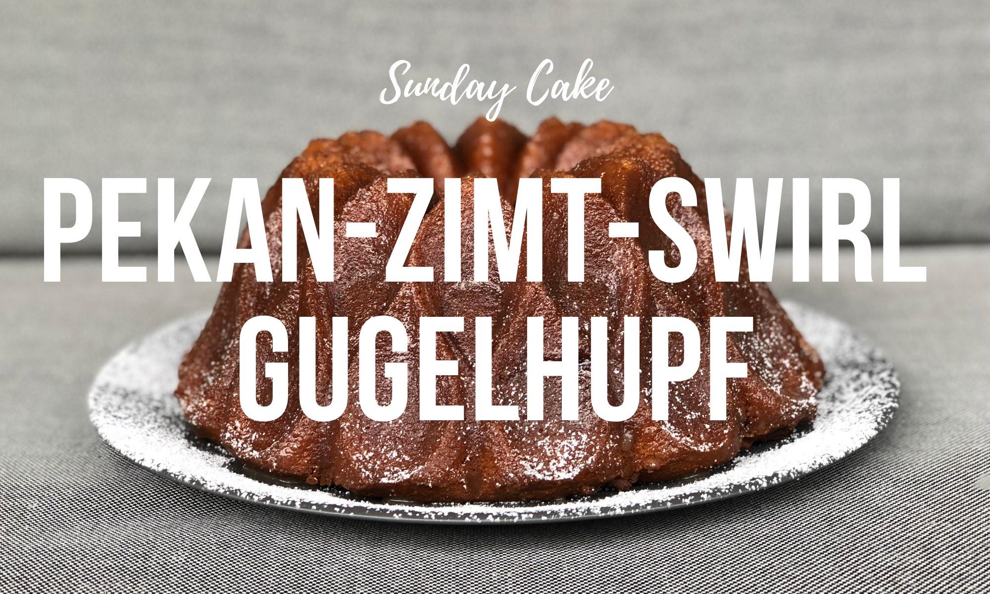 Pekan-Zimt-Swirl Gugelhupf