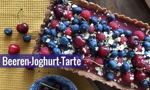 Beeren-Joghurt-Tarte