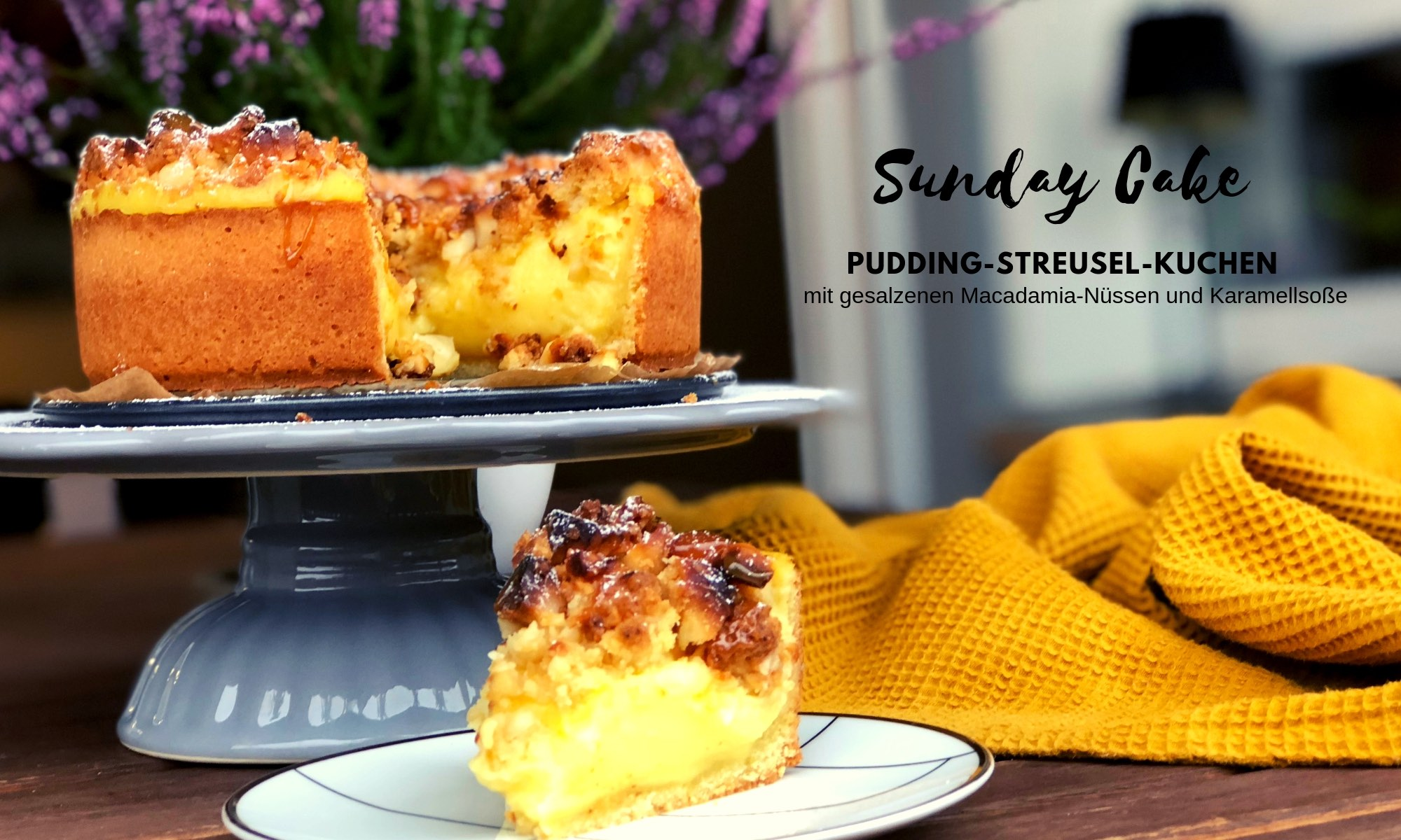 Pudding-Streusel-Kuchen