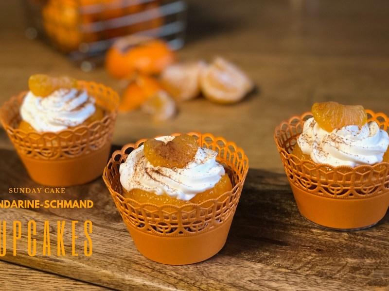 Mandarine-Schmand-Cupcakes