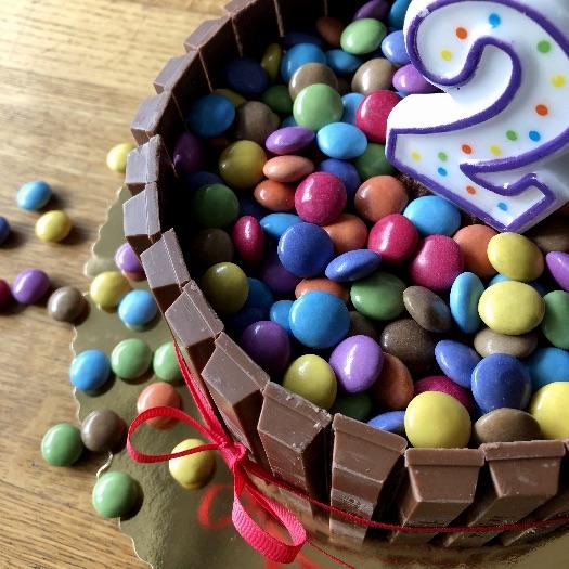 Smarties Geburtstagskuchen_1