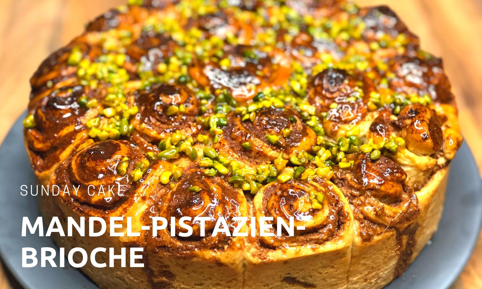 Mandel-Pistazien Brioche