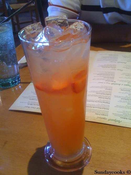 Olive Garden italian restaurant utah sandy usa eua limonada morango