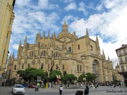 catedral gótica de segóvia