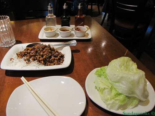 pf chang's Chang's Chicken Lettuce Wraps salt lake city US EUA restaurante