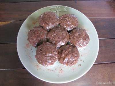 cupcake bolo de chocolate brigadeiro de colher