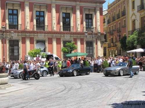 Tom Cruise em Sevilha