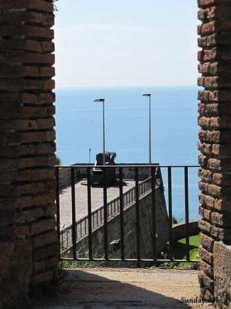 teleférico  e castelo de montjuïc