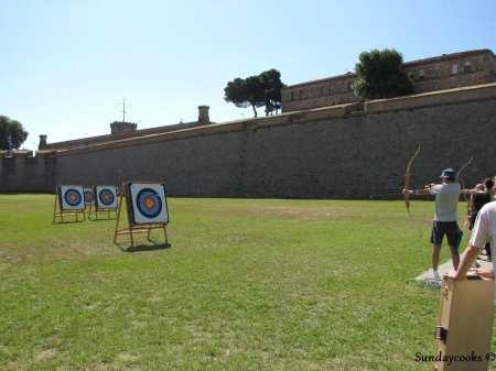 aula de arco e flecha em barcelona