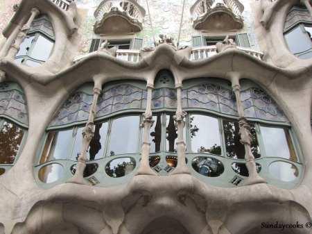 detalhe da Casa Batlló - Barcelona