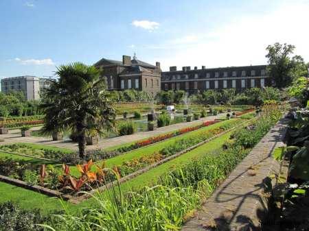 jardins do palácio de Kensington