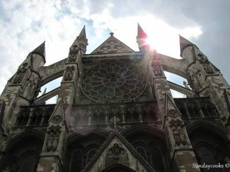 lateral da Abadia de Westminster