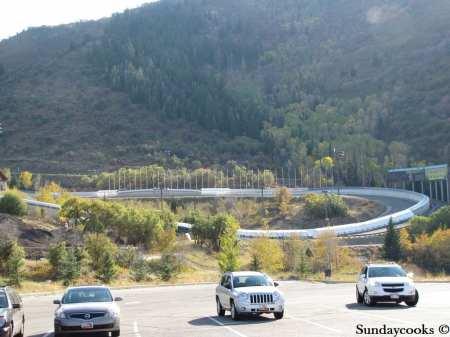 Utah Olympic Park bobsleigh