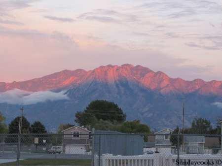 utah montanhas
