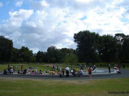 Diana Memorial Fountain londres
