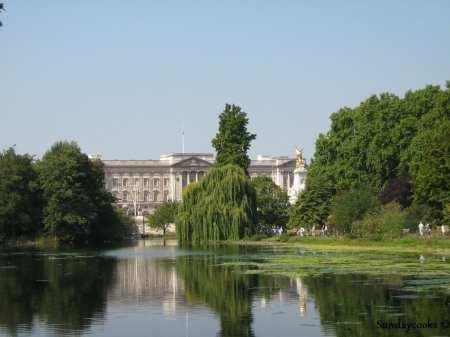 vista do Palácio de Buckingham
