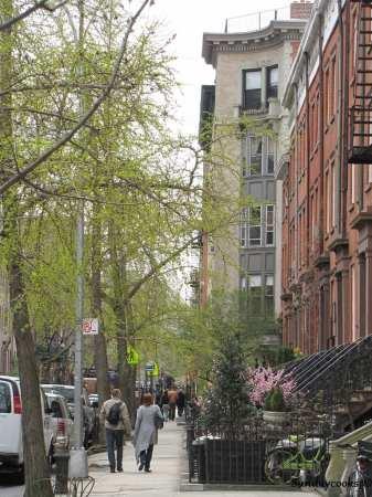 Sul de Manhattan - uma bela rua
