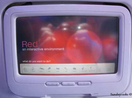 Como é voar de Virgin America - entretenimento de bordo