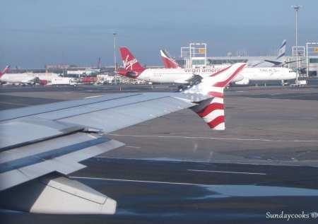 Como é voar de Virgin America - hub da companhia