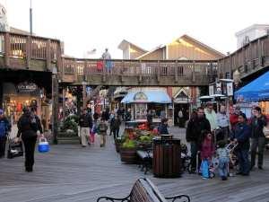 Pier 39 e o Fisherman's Warf