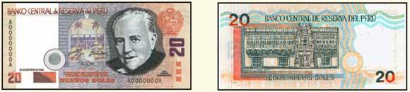 Qual moeda levar para o Peru? - nova nota de 20 soles