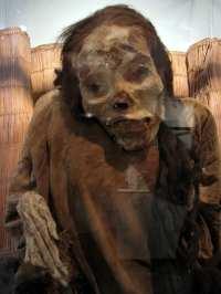 sitios arqueológicos de lima: Huaca Huallamarca - múmia
