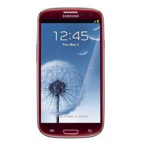 Samsung Galaxy S3 - vermelho AT&T