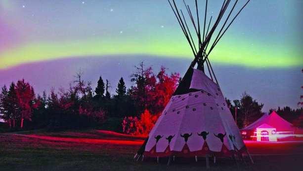 Canada Blogger Tour - Alberta Aurora Boreal