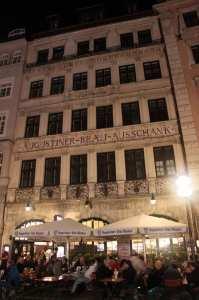 Augustiner Munique - Entre a Marienplatz e a Karlsplatz