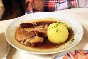 Augustiner Munique - Porco e batata