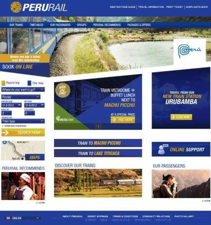 Como ir para Machu Picchu - Site Peru Rail
