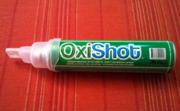 Mal de altitude - OxiShot