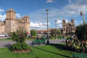 Boleto religioso de Cusco - Plaza de Armas