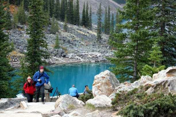Explore Canada - Lake Moraine