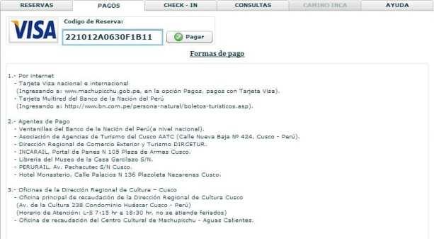 Ingressos para Machu Picchu - compra online