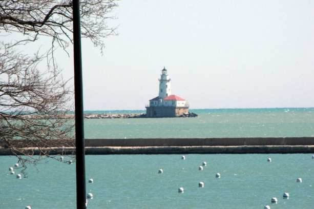 Melhor época para visitar Chicago - Grandes Lagos, vento frio. Muito frio.