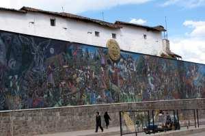 Mercados de Cusco - Muros da Calle Sol