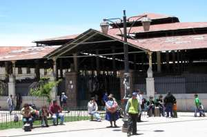Mercados de Cusco - Entrada do Mercado Central