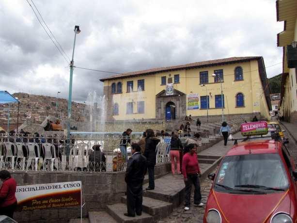 Onde ficar em Cusco - Ladeira perto do Museu Inca
