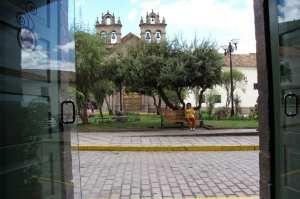 Restaurantes em Cusco - Vista da praça