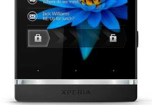 Sony Xperia S - Lock Screen