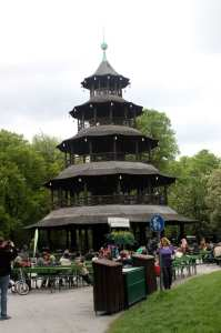 English Garden de Munique - Chinese Tower