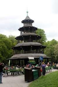 English Garden de Munique - Chinese Tower