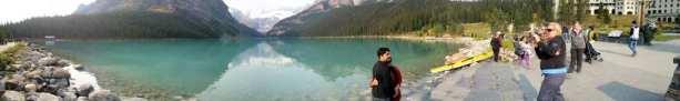 Lagos do Canada - Panorâmica do Lake Louise
