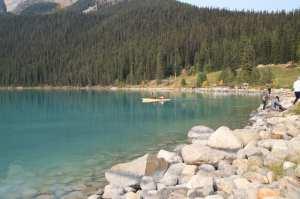 Lagos do Canada - Margem esquerda do Lake Louise