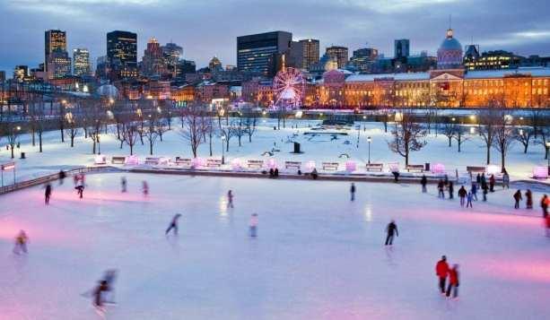 Montreal - Skating Old Port
