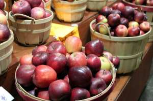 Mercados em Montreal - Maçãs, muitas maçãs