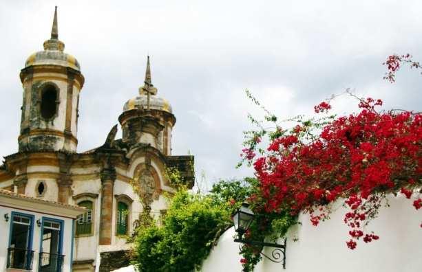 Ouro Preto na Pascoa - Igreja São Francisco de Assis lateral